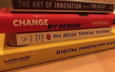 Empfehlungen für Design Thinking Bücher, Videos & Podcasts