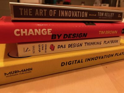 Empfehlungen für Design Thinking Bücher, Videos & Podcasts