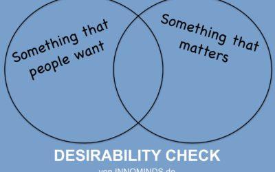 Desirability – was ist das und wie können Sie die Desirability einer Idee testen?